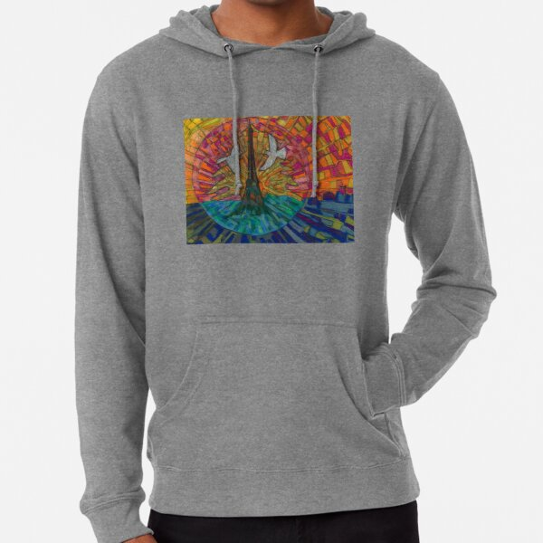 Two Turtle Doves Lightweight Hoodie