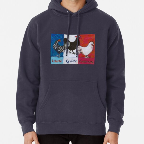 Three French Hens Pullover Hoodie