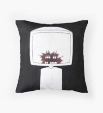 crimson Throw Pillow