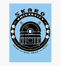 Dalek College Photographic Print