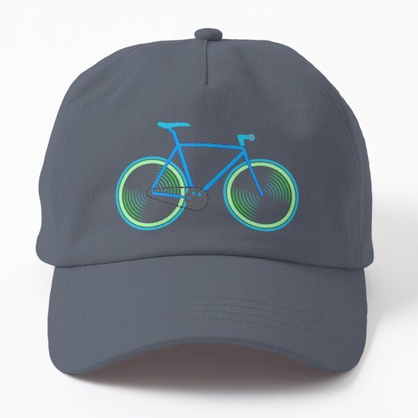 Fixie Green and Blue Dad Hat