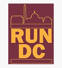 Redskins - Run DC - Run DMC Photographic Print