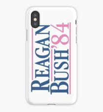 Reagan Bush 84 Pink Preppy Republican iPhone Case/Skin