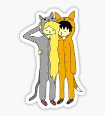 Kigurumi Cuties Sticker