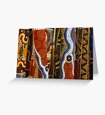 Didgeridoo Dots Greeting Card