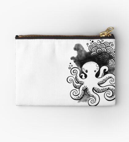 Drawing Day ~ Fear Zipper Pouch