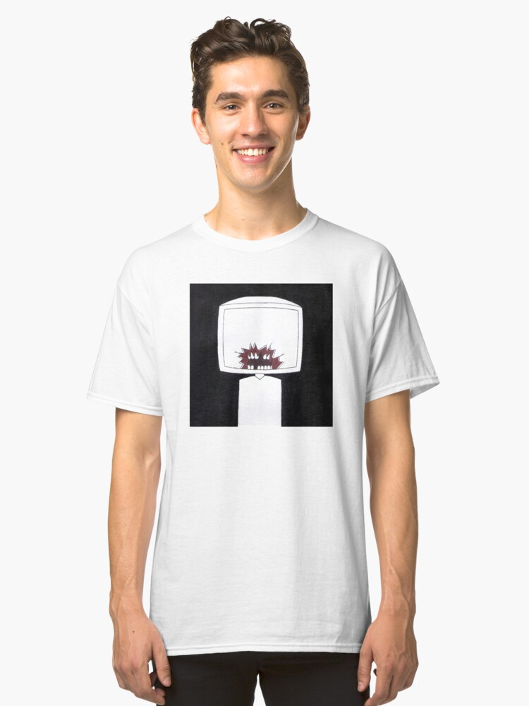 crimson Classic T-Shirt Front