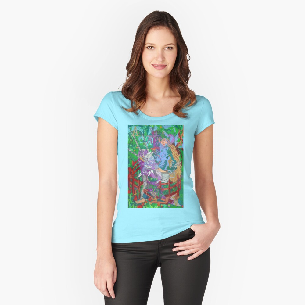 Archeology of the Unicorn Fitted Scoop T-Shirt