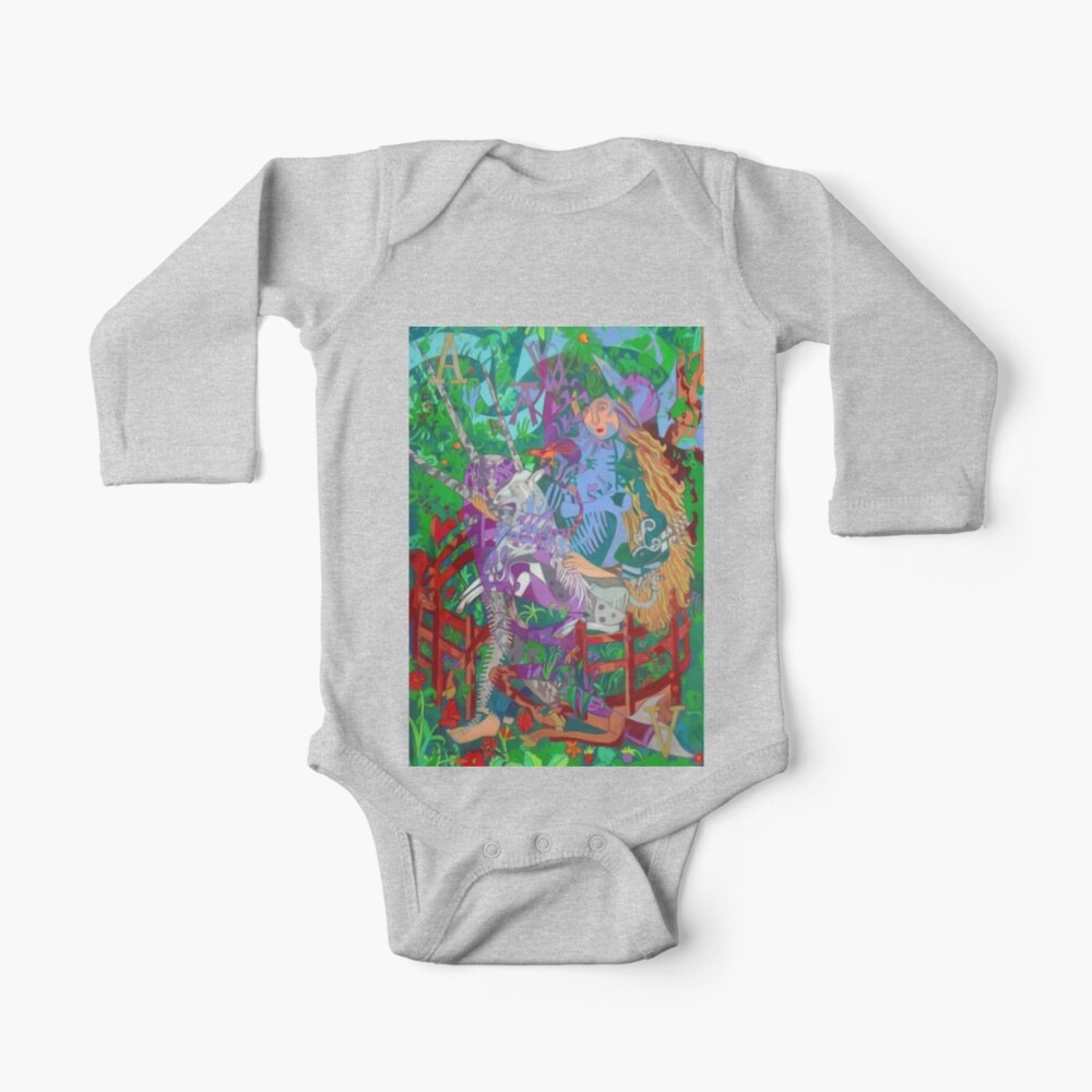 Archeology of the Unicorn Baby One-Piece
