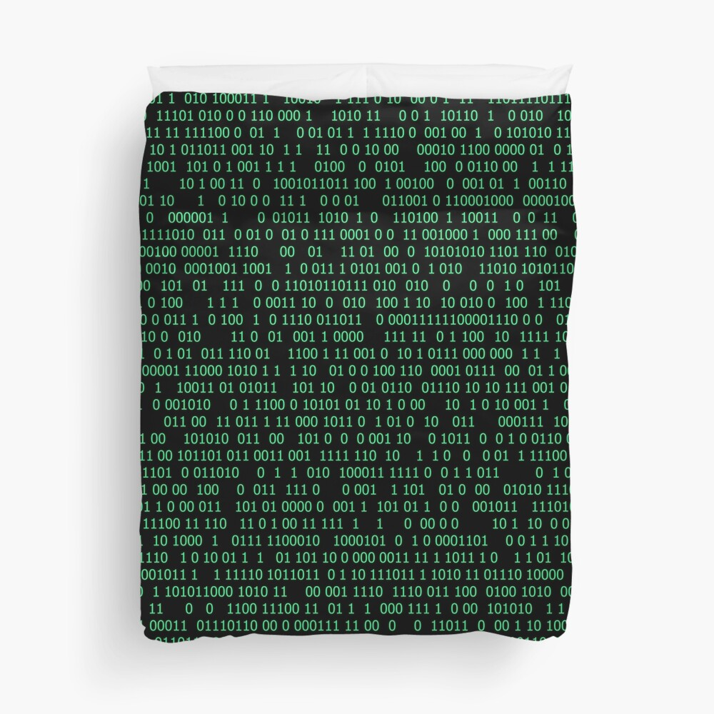 Binary numeral system Duvet Cover