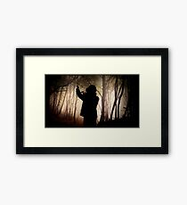 Experiencing Virtual Reality Framed Print