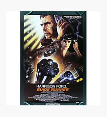 Vintage Blade Runner Poster Photographic Print
