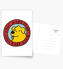cool dogs club Postcards