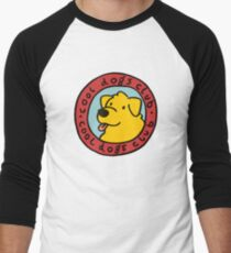 Camiseta ¾ bicolor para hombre club de perros guays