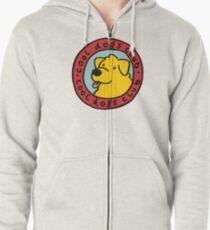 cool dogs club Zipped Hoodie