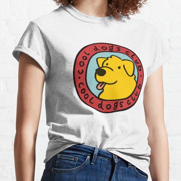 club de perros cool Camiseta clásica