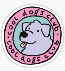 Pegatina club de perros guays 2