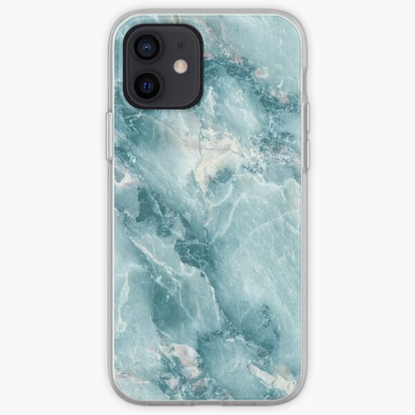 MARBLE - BLUE [iPhone case] iPhone Soft Case