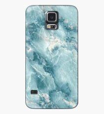 Funda/vinilo para Samsung Galaxy MÁRMOL - AZUL [funda de iPhone]