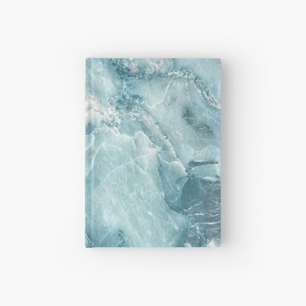 MARBLE - BLUE [iPhone case] Hardcover Journal