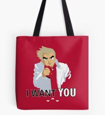I Want You -- To Catch Them All! Tote Bag