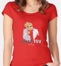 I Want You -- To Catch Them All! Women's Fitted Scoop T-Shirt
