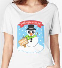 A Winter Wonderland II Women's Relaxed Fit T-Shirt