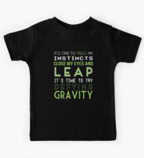 Defy Gravity Kids Tee