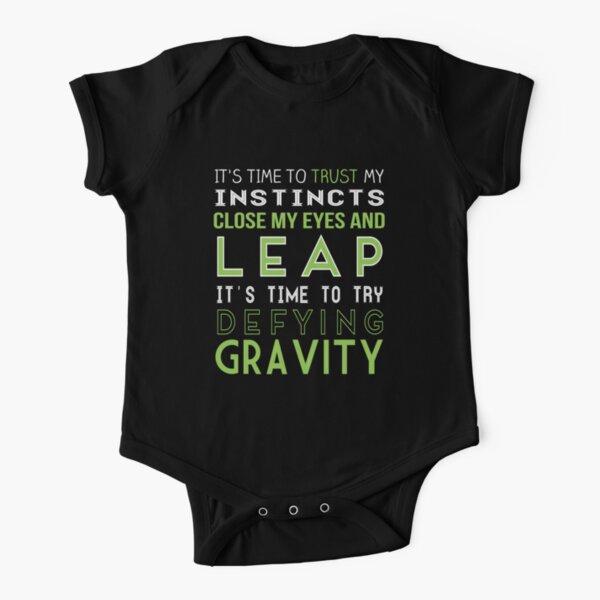 Defy Gravity Short Sleeve Baby One-Piece