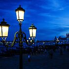 Lamp post in Venice by Fike2308
