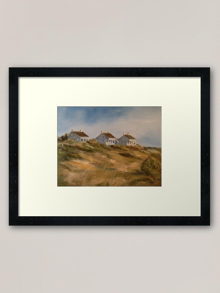 Alternate view of Captain Charlie's I, II, and III, Bald Head Island Framed Art Print