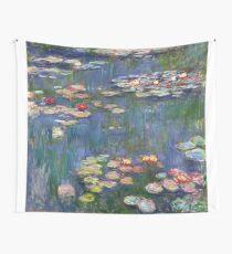 1916-Claude Monet-Waterlilies-200 x 200 Wall Tapestry