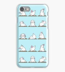 Bunnies Yoga iPhone Case/Skin