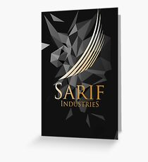 Sarif Industries Greeting Card