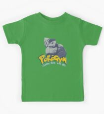 pokegym vintage Kids Clothes
