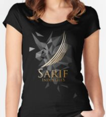 Sarif Industries Women's Fitted Scoop T-Shirt