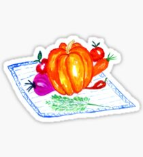 Collection of Vegetables Sticker