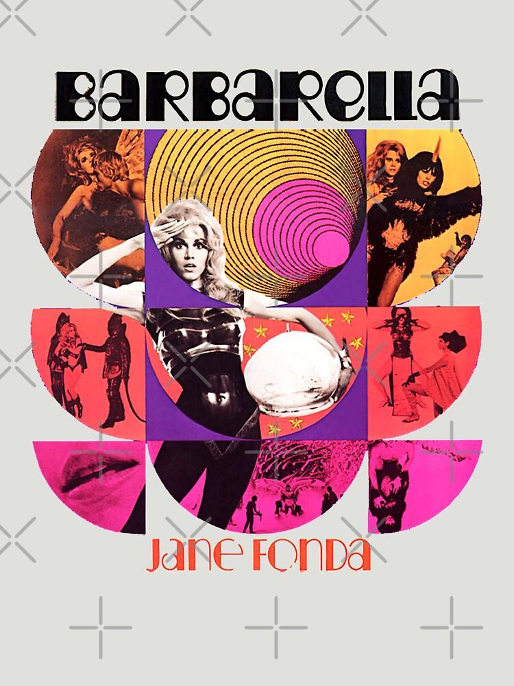 Barbarella - película de culto 1969 de alphaville