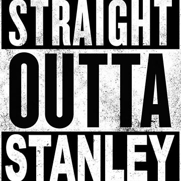 Straight Outta Stanley, Hong Kong by MyFunTeez