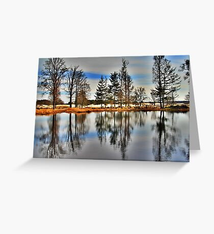 Reflection in Spring Greeting Card
