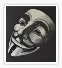 V is for Vendetta Sticker
