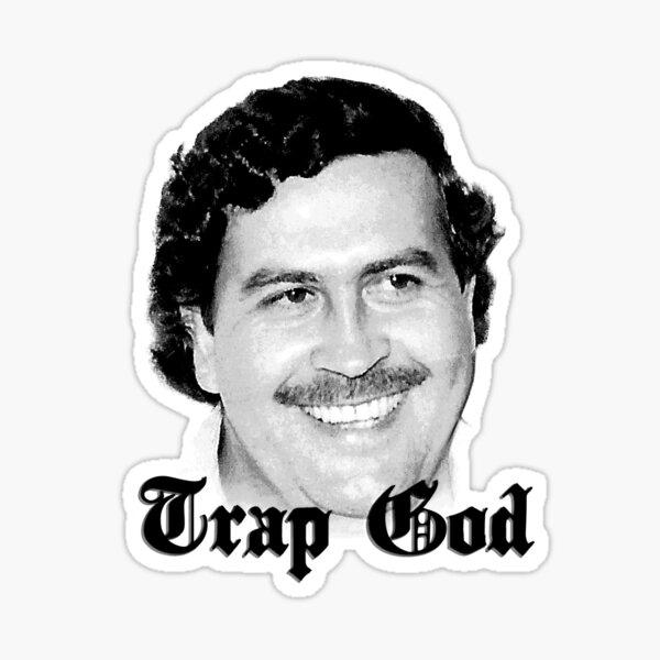Trap God Escobar Sticker