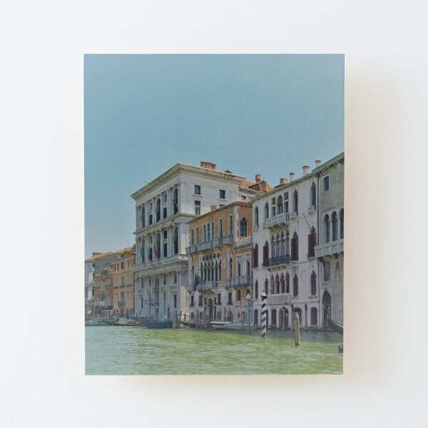Venice Grand Canal Wood Mounted Print
