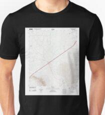 USGS TOPO Map Arizona AZ Red Bird Hills 20111202 TM Unisex T-Shirt