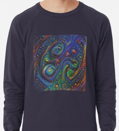 Summer night #DeepDream A Lightweight Sweatshirt