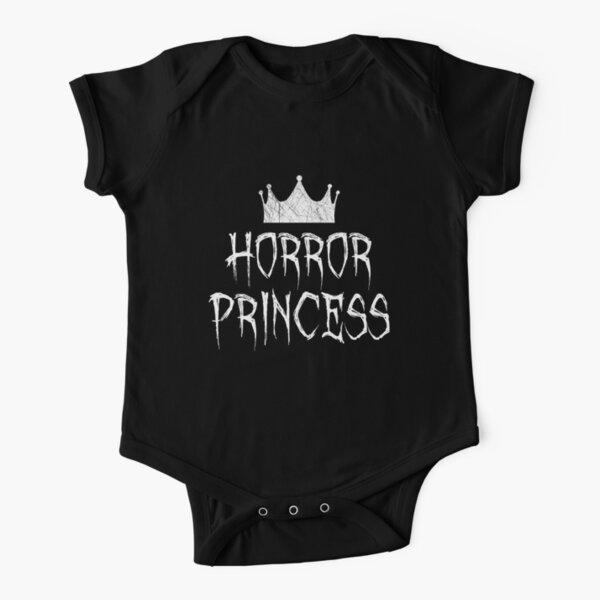 Horror Princess - Horror Movie Fan Short Sleeve Baby One-Piece