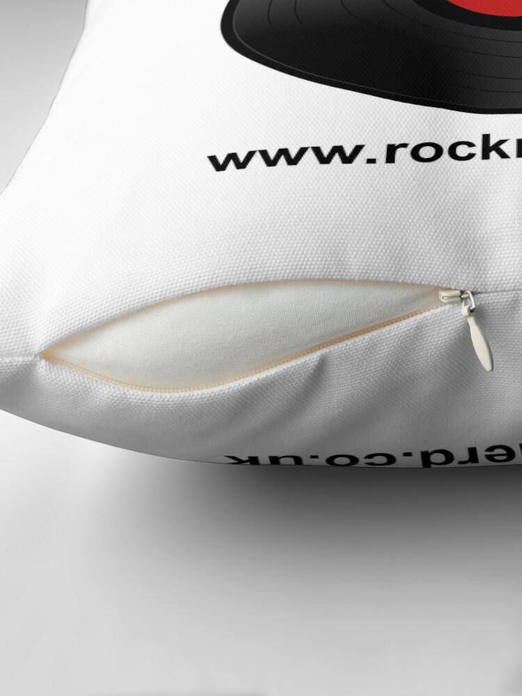 Alternate view of Rocknerd Throw Pillow