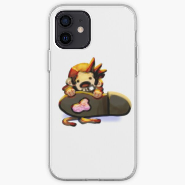 Small Gumshoe with gum on his shoe iPhone Soft Case