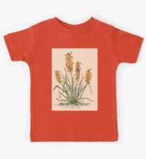 Kniphofia (Red Hot Poker) Kids Clothes