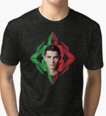 CRISTIANO RONALDO IS THE LEGEND Tri-blend T-Shirt